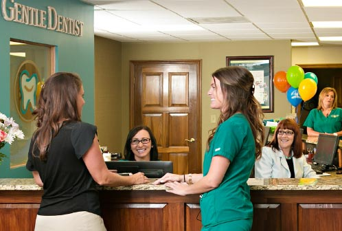 Staff Hygienist Patient Greeting
